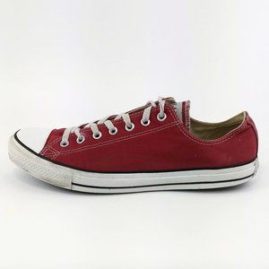 Converse CTAS Lo Top Jester Red Sneakers Mens 12